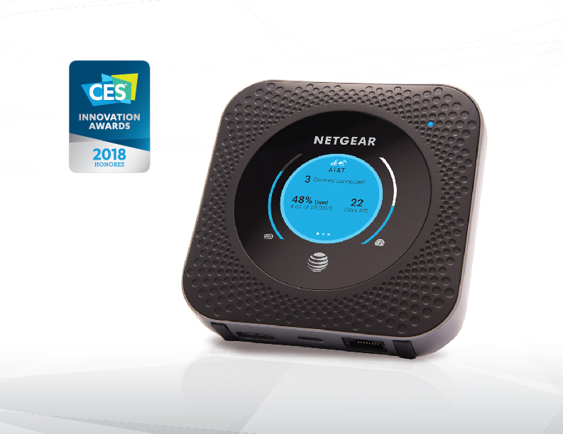 Nighthawk® LTE Mobile Hotspot Router