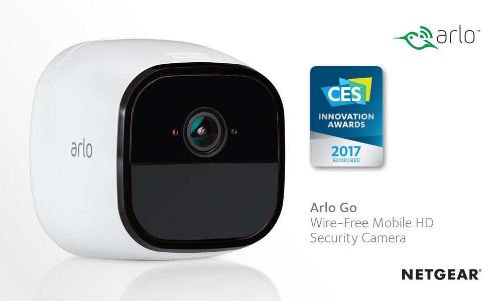 CES awards for Arlo Go