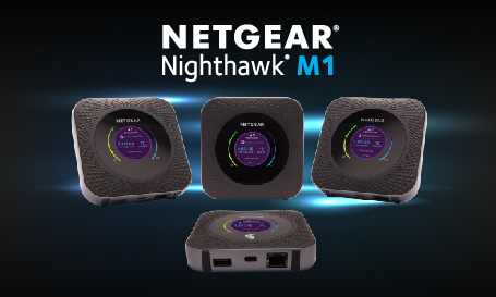 NIGHTHAWK M1 MOBILE ROUTER | 2017 | Press Releases | About Us | NETGEAR