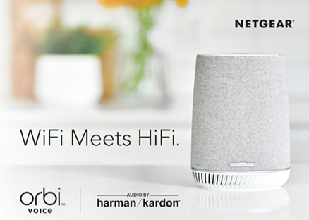 NETGEAR DEBUTS THE WORLD'S FIRST MESH WIFI SYSTEM WITH ALEXA