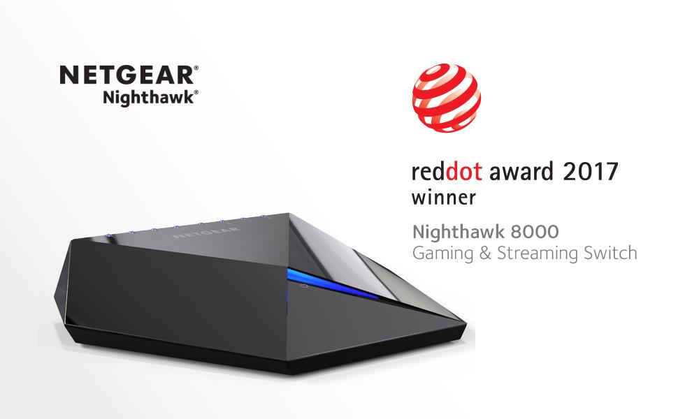 Netgear Products Win Six Reddot Awards 2017 Press