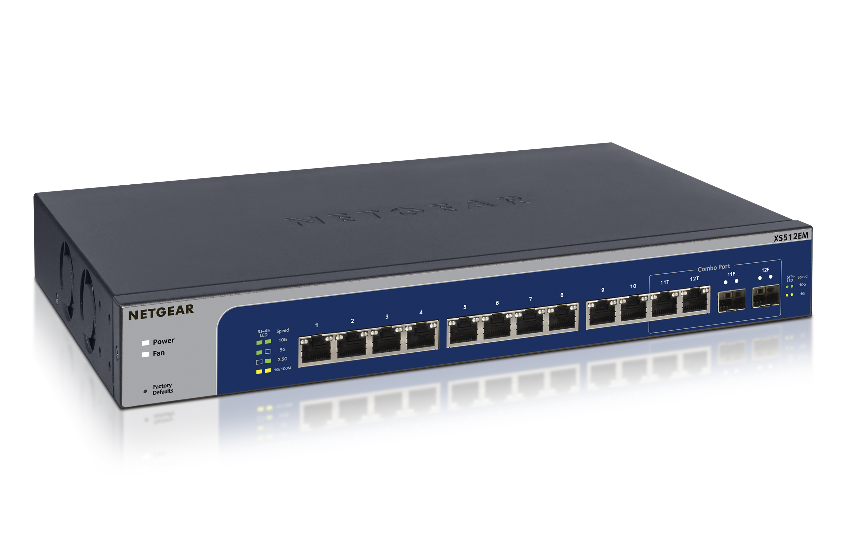 Multi Gig 2018 Press Releases About Us Netgear Wiring A Network Switch Xs512em 12 Port 10 Gigabit Ethernet Smart Managed Plus With 2 Sfp Ports Desktop And Rackmount 89999