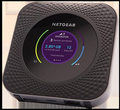 NETGEAR Nighthawk M1 MR1100 Mobile Hotspot Router for AT/&T Renewed