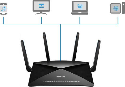 Easiest plex set up ever nighthawk x10 r9000 router by netgear now you can enjoy your media on all your devices greentooth Images