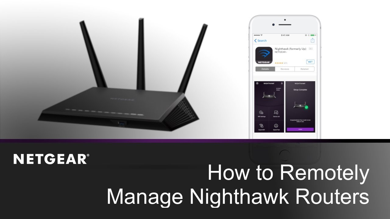 Nighthawk R6900 | AC1900 Smart WiFi Router | NETGEAR Support