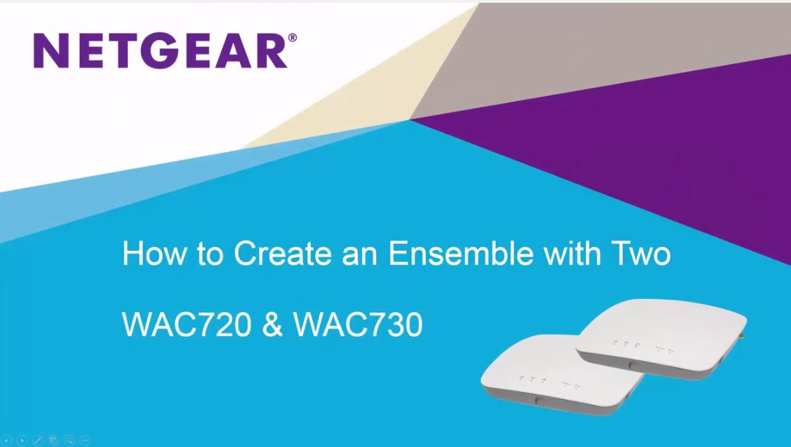 WAC720   Premium Wireless   Wireless   Business   NETGEAR