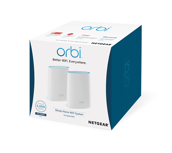 Orbi A Wifi System For Better Wifi Everywhere Netgear