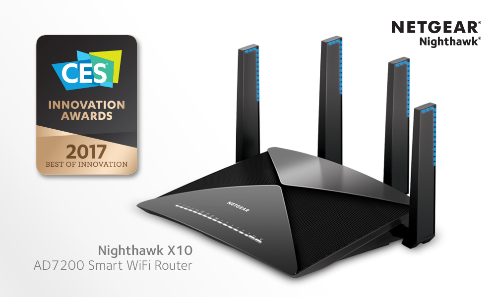 NETGEAR CES 2017 INNOVATION AWARDS | 2016 | Press Releases | About ...