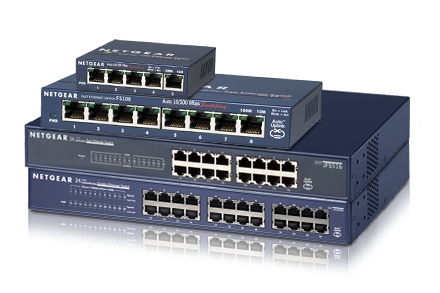 a comparison of fast ethernet network switches and gigabit ethernet network switches These days there are two available standards, fast ethernet and gigabit,  in  this situation, upgrading the switch would boost your network.
