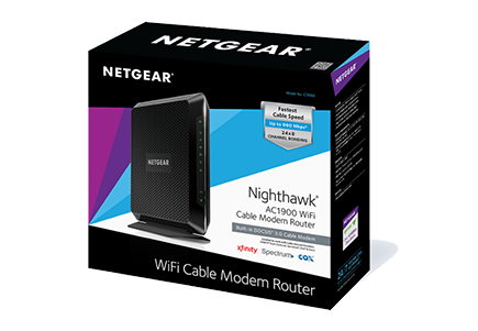 Docsis 3 0 Cable Modem Router Nighthawk Ac1900 C7000