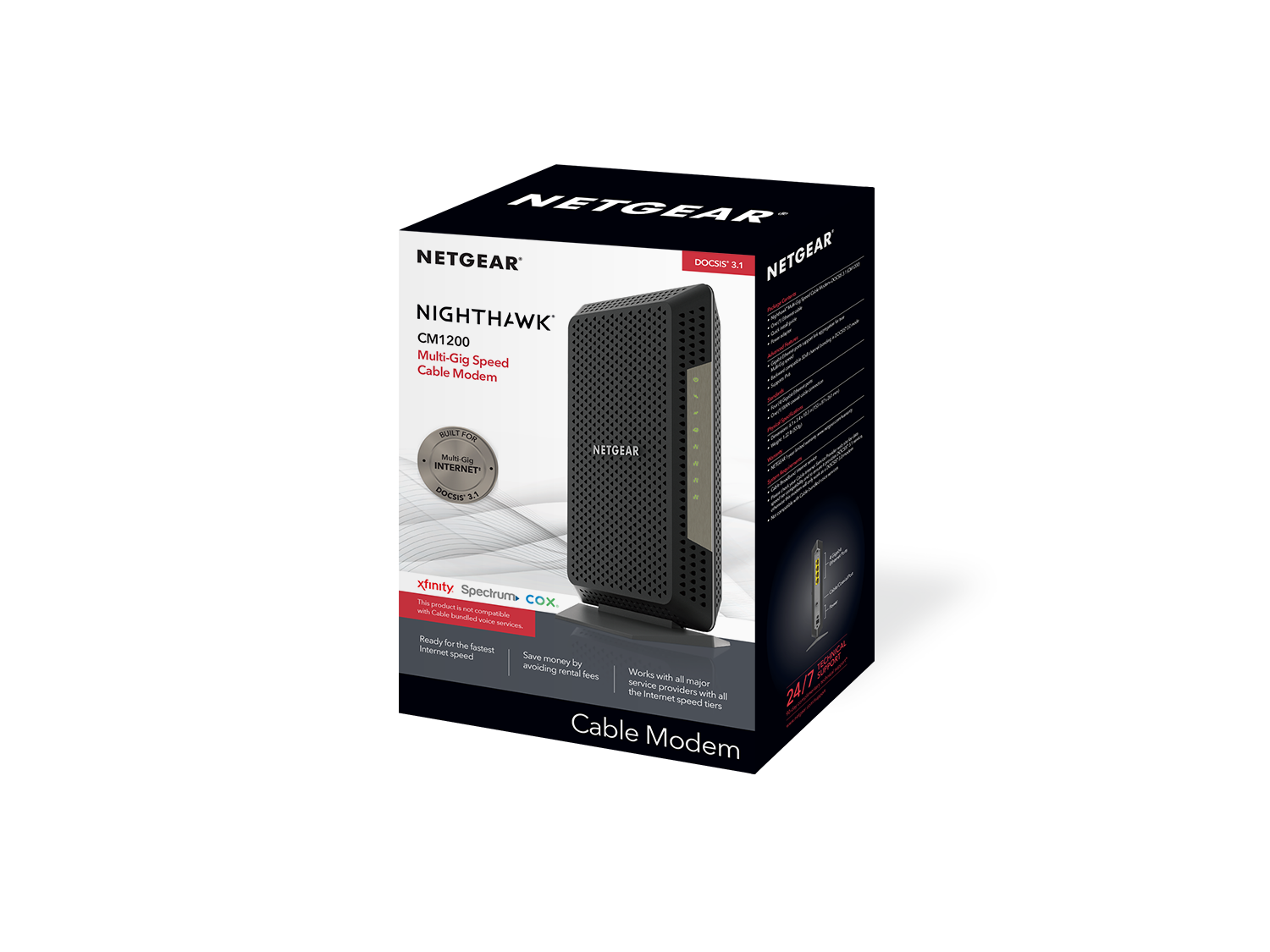 Cm1200 Cable Modems Amp Routers Networking Home Netgear