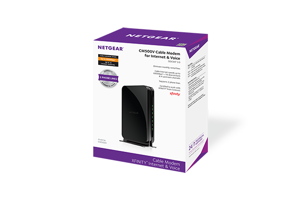 CM500V   Cable Modems & Routers   Networking   Home   NETGEAR