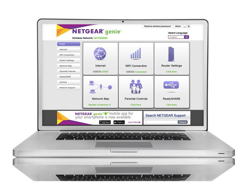 XWNB5201 Powerline Networking Home NETGEAR