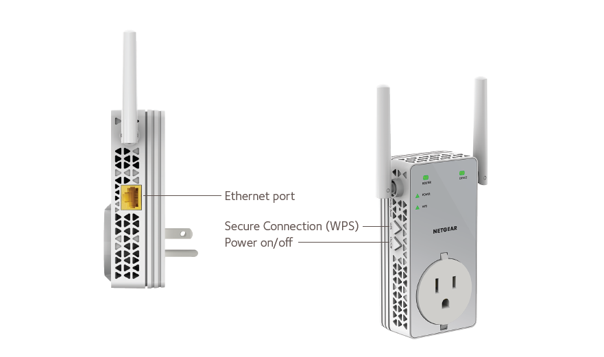 how to connect 2 netgear wifi extenders