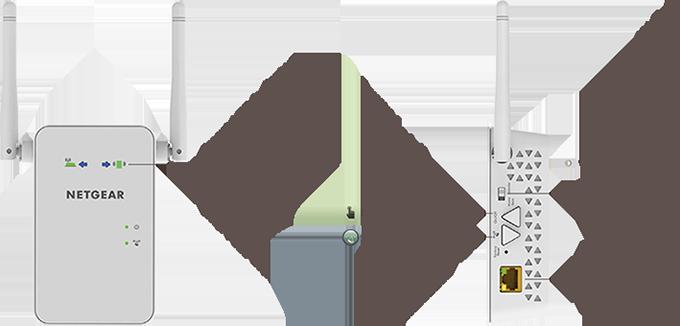 Ex6100 wifi range extenders networking home netgear