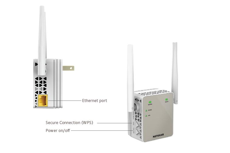 Ex6120 Wifi Range Extenders Networking Home Netgear