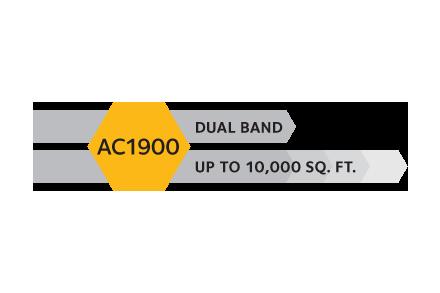 WiFi Range Extender EX7000 | AC1900 | NETGEAR