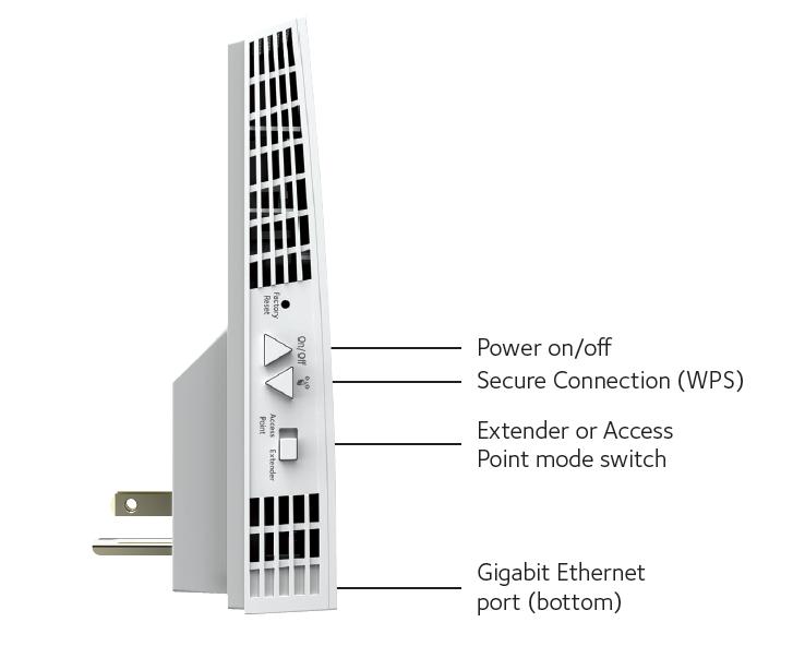 netgear ac2200 nighthawk x4 wifi range extender  ex7300