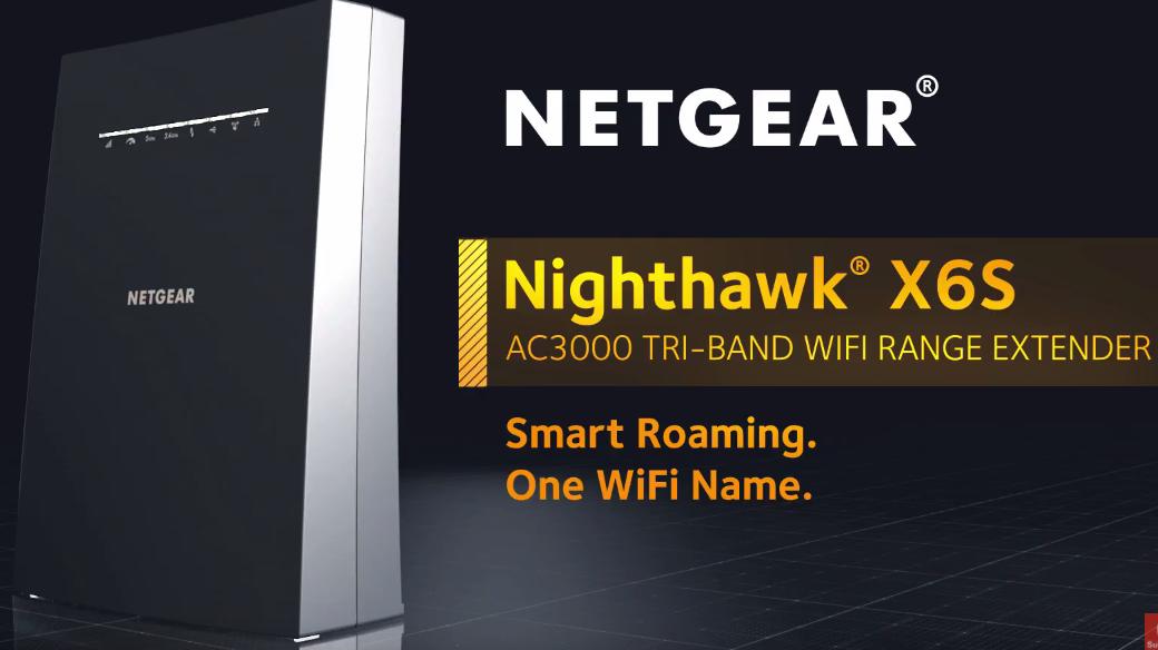 EX8000 NETGEAR Nighthawk Mesh X6S Tri-Band WiFi Mesh Extender