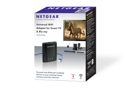 WNCE2001 | Gaming & Home Theater Adapters | Connected Entertainment