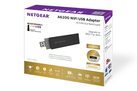 A6200 | WiFi Adapters | Networking | Home | NETGEAR