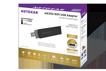 Netgear a6200 wifi usb adapter