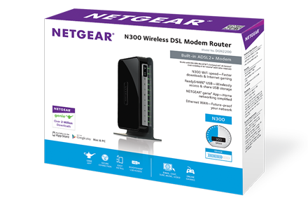 NETGEAR DGN2200v4 Router Drivers for Mac Download