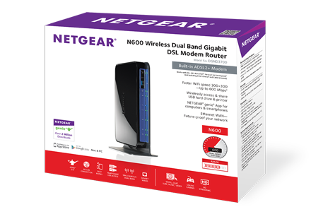 NETGEAR DGND3700v2 Router Download Driver