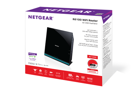 R6100 | WiFi Routers | Networking | Home | NETGEAR