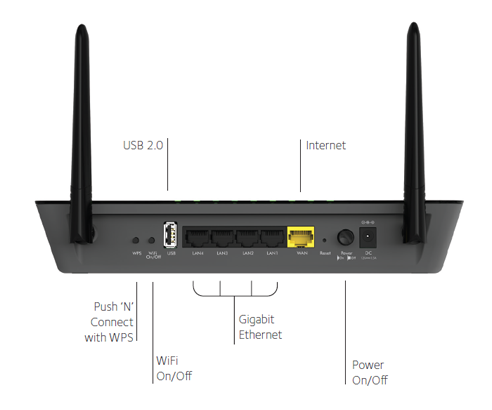 R6220 Wifi Routers Networking Home Netgear