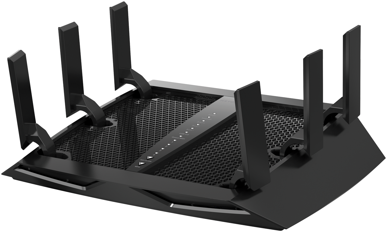 Nighthawk<sup><sup>®</sup></sup> X6S AC3600 Tri-Band WiFi Router