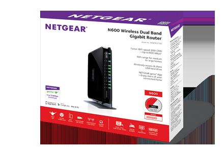 Netgear N600 Wireless Dual Band Router Software