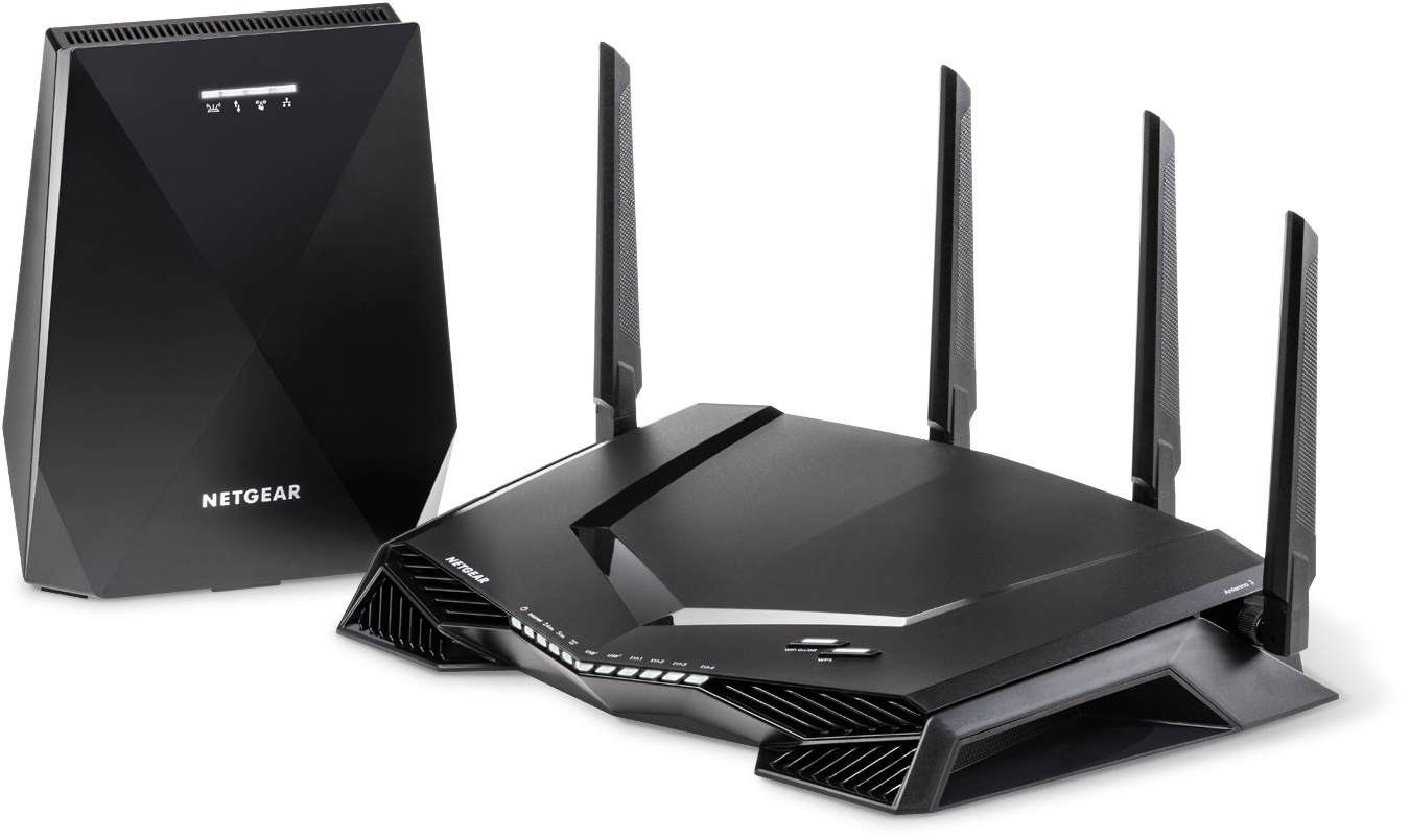 Nighthawk<sup><sup>®</sup></sup> Pro Gaming WiFi Router and Mesh System