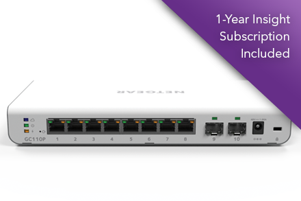 Gigabit Switch Series | Insight Managed Smart Cloud Switches ...