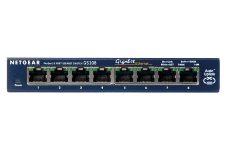 Gigabit Unmanaged Switch Series Gs108 Unmanaged