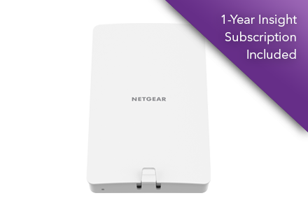 NETGEAR<sup>®</sup> Insight Managed WiFi 6 AX1800 Dual Band Access Point (WAX610Y)