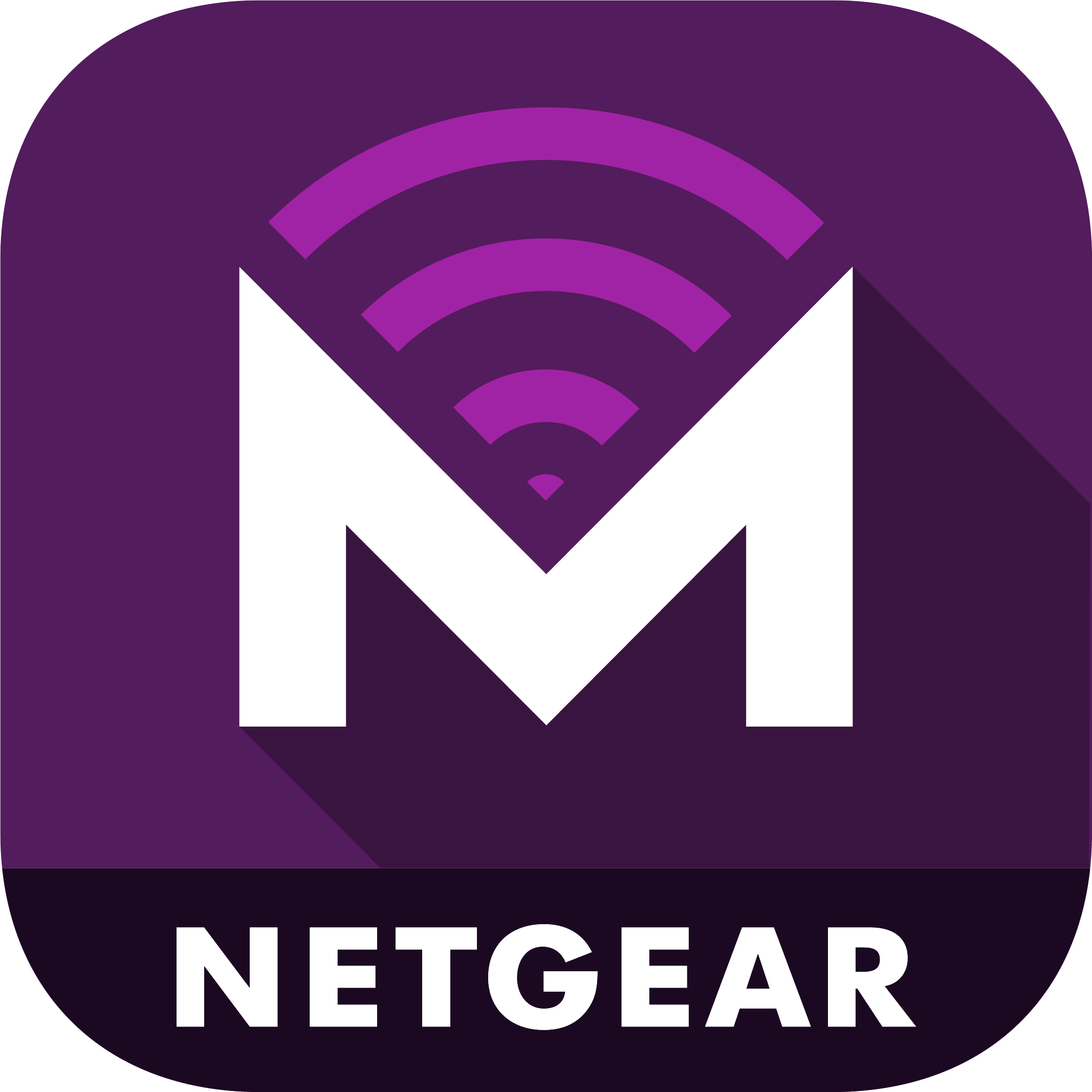 Mobile App Landing Page | Apps | Discover | Home | NETGEAR