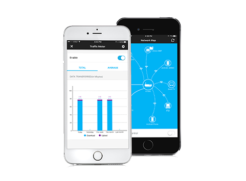 Genie Landing Page Apps Discover Home Netgear