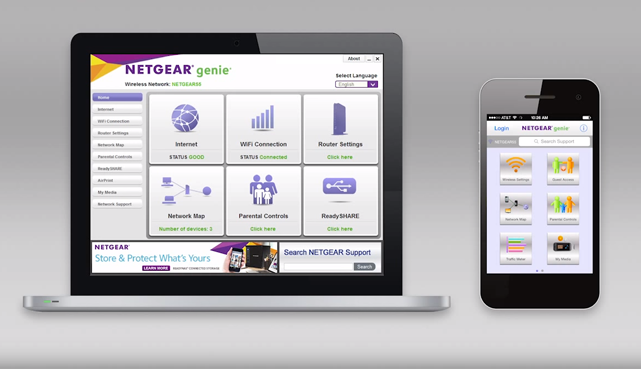 Genie landing page apps discover home netgear remote management of your network keyboard keysfo Image collections