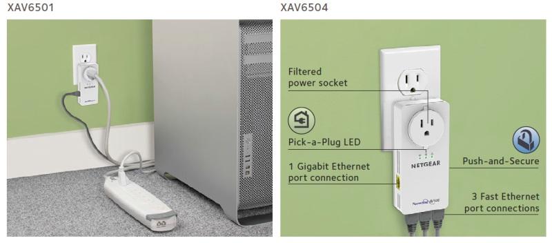 Netgear XAVB6504 Powerline AV Network Adapter