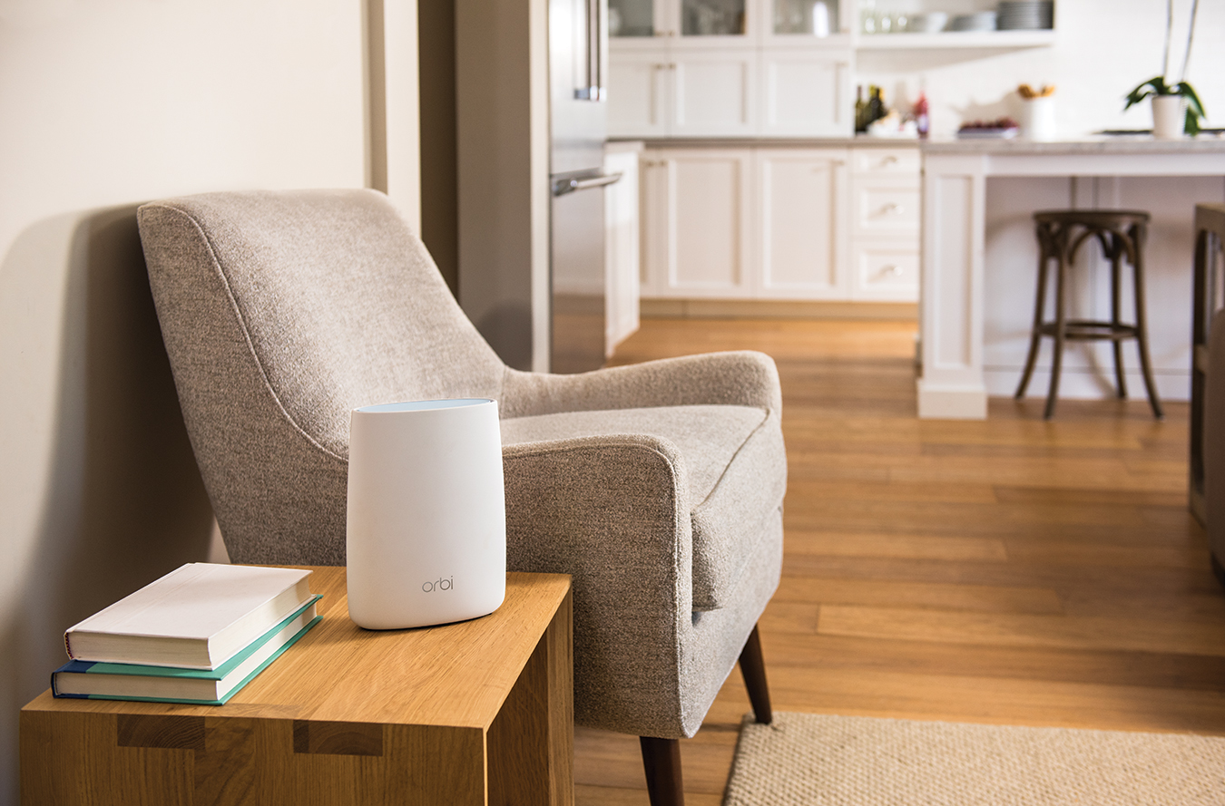NEW ORBI WIFI SYSTEM FROM NETGEAR DELIGHTS WITH WHOLE HOME HIGH
