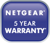 logo 5 year warranty