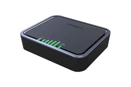 4G LTE Modem with Dual Ethernet Ports