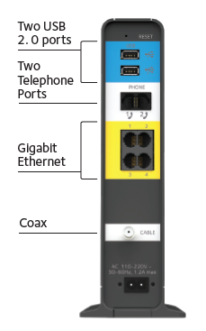 C7100v Cable Modems Amp Routers Networking Home Netgear