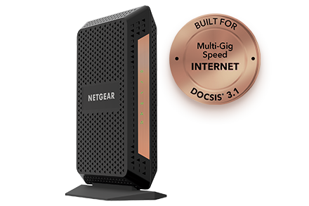 MULTI-GIG SPEED CABLE MODEM