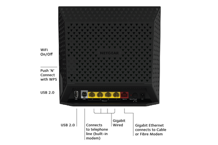 D6400 Dsl Modems Amp Routers Networking Home Netgear