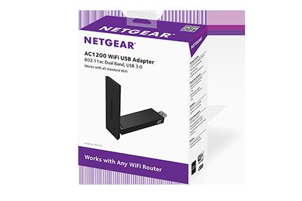 Netgear AC1200 WiFi Wireless USB Adapter High Gain Dual Band USB 3.0 A6210
